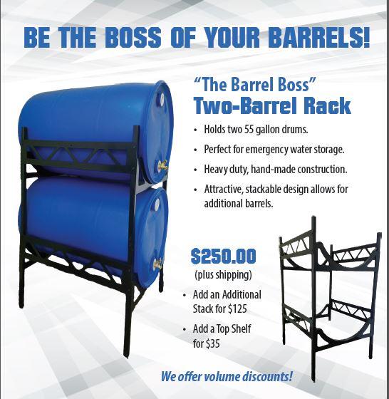 sc 1 st  Preparation Essentials & Water Barrel Storage Racks - Preparation Essentials